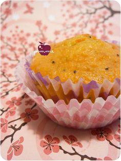 ..Muffins à l'orange et aux graines de pavot..