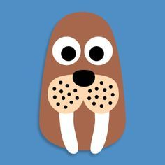 walrus crafts preschool - Google Search                                                                                                                                                                                 More