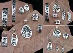 Hopi Sterling Silver Native American Jewelry. spiritofsantafetucson.com