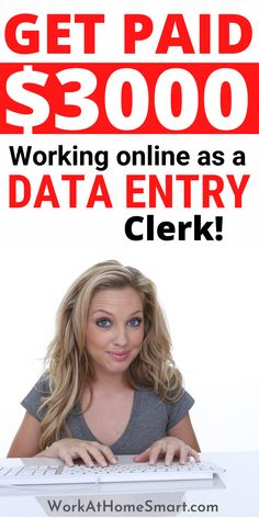 Looking for the best online data entry jobs to earn money? Great! Here's a list of companies with freelance data entry jobs for beginners and pros. Typing Jobs From Home, Online Typing Jobs, Online Data Entry Jobs, Data Entry Clerk, Online Work, Earn Money, How To Find Out, Investing, Online Jobs