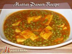 Mattar Paneer (Green