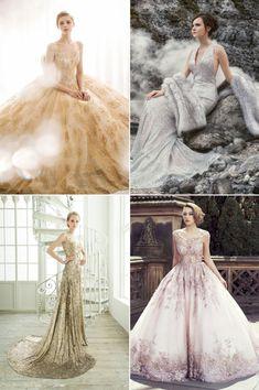 Top right corner = dream wedding gown