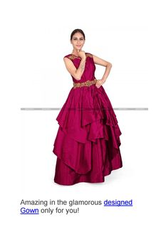 Designed gown in usa form parisworld in