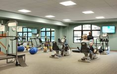 Cypress Glen cardio and weight room