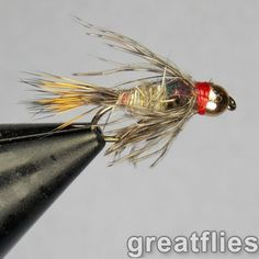 BH-24 1 DOZEN GOLD BEAD HEAD  OLIVE BAETIS NYMPHS FOR FLY FISHING