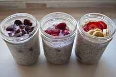 chia seed overnight oats