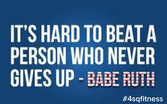 Babe Ruth inspiration #livethefuel