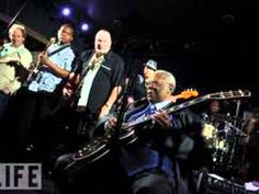 B.B King on guitar, Johnny Lang vocals  - Why I sing the blues....no one can sing it like BB!