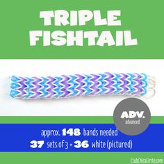 11 Cool Rainbow Loom Bracelets for Kids to Make from Easy to Advanced | Club Chica Circle - where crafty is contagious