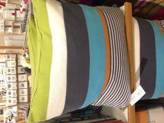 Cushion Bali stripe John Lewis 50x50cm 'Harlequin'