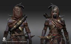 ArtStation - Assassin's Creed: Origins Kensa Concepts, Jeff Simpson
