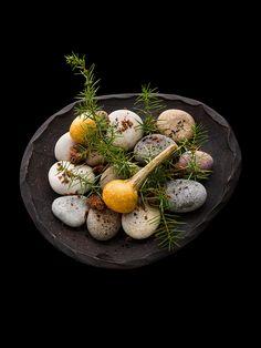 Artichoke tempura by chef Kei Kobayashi. © Richard Haughton - See more at: http://theartofplating.com/editorial/kei-kobayashi-picasso-in-the-kitchen/#sthash.va2HUoOQ.dpuf