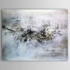 Hand Painted Oil Painting Abstract Landscape - WallArtBox