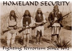 Apache Indian Symbols | Geronimo (second from right, in front) and other Native American ...