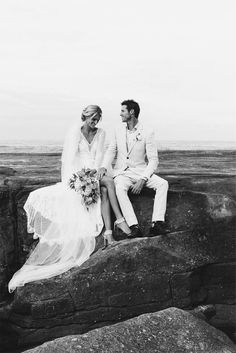 Lauren in our MAI gown, KINGA veil, GAIA earring, DOSA heel and TRIBE anklet | Grace Loves Lace
