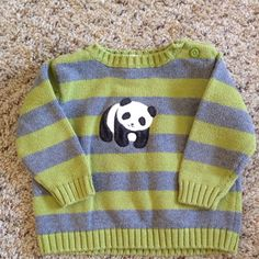 Check this item I am selling on Totspot, the resale shopping app for kids' clothes.   Gymboree panda sweater Gymboree  Love this! #kidsfashion