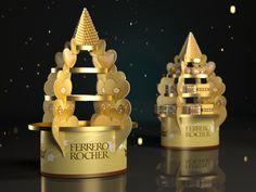 Posm for Ferrero on Behance Shop Display Stands, Pop Display, Display Design, Exhibition Booth Design, Exhibition Display, Exhibition Stands, Exhibit Design, Merchandising Displays, Store Displays