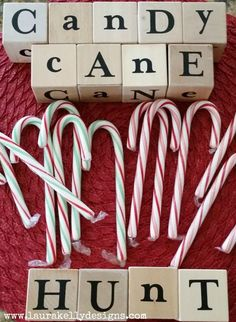 Going on a Candy Cane Hunt – Family Fun for the Holidays | Laura Kelly's Inklings