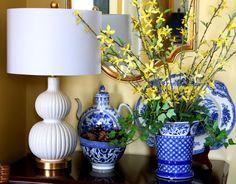 My Kentucky Living : Spring Decorating: Flower Arrangement