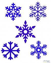 snowflake outline - Google-haku
