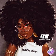 Black Love Art, Black Girl Art, Black Girl Magic, Art Girl, Natural Hair Art, Pelo Natural, Black Art Painting, Black Artwork, African American Art