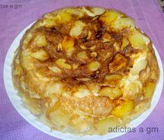 Tortilla de patatas en Olla Gm (modo horno)