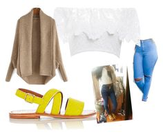 """""""TODAYS OUTFIT"""" by iridescentlynya ❤ liked on Polyvore featuring Marni and Nightcap"""