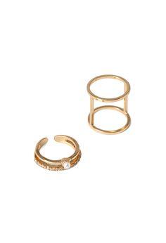 Cutout Midi Ring Set | FOREVER21 - 1000118350