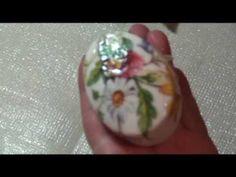 Lu Heringer - Decoupage em sabonete - Parte 3 - final - YouTube Decoupage Tutorial, Home Made Soap, Wool Felt, Bath And Body, Stencils, Diy Crafts, Homemade, Youtube, Christmas Ornaments