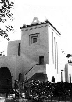 icaronycteris:    Luis Barragán: Casa de Efraín González Luna, Colonia Americana, Guadalajara, Jalisco, 1929-30 [hoy Casa ITESO Clavigero]