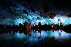 Lechuguilla Cave in New Mexico. I want to go here sooooo bad!