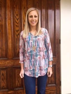 """""""Work Of Art"""" Blouse by Viereck"""