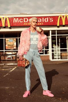 Conor O'Reilly photographed by Pawel Herman and styled by Umar Sarwar, for the latest issue of Attitude magazine.