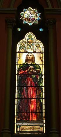 Windows - Church of the Covenant (Boston) - Louis Comfort Tiffany Louis Comfort Tiffany, Glass Art, Crystals, Boston, Artwork, Painting, Windows, Work Of Art, Auguste Rodin Artwork