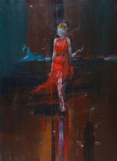 "Saatchi Art Artist OSCAR ALVAREZ; Painting, ""LN-3"" #art"