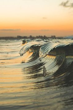 Perfect Timing Of Waves Cresting.