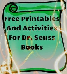 Wonderful collection of printables and activities for Dr. Seuss books. Free! by nichole.mccray
