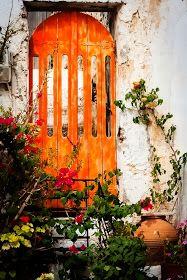 Orange.  Agia Galini, Crete, Greece