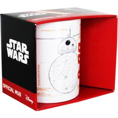 Buy Star Wars BB8 Sketch Mug  online from The Works. Visit now to browse our huge range of products at great prices.