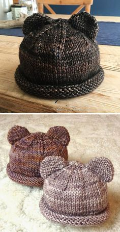Bitty Bear Cubs - free pattern Itty Bitty Bear Cubs - free pattern, Knitting , lace processing is the most beautiful h. Itty Bitty Bear Cubs - free pattern Itty Bitty Bear Cubs - free pattern, Knitting , lace processing is the most beautiful h. Baby Knitting Patterns, Baby Hats Knitting, Knitting Blogs, Knitting For Kids, Knitting For Beginners, Loom Knitting, Free Knitting, Knitting Projects, Knitted Hats