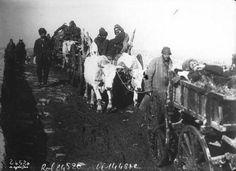 Balkan Savaşı.Lüleburgaz Muharebesinden sonra geri çekilen askerlerimiz.Fransa Arşivleri...