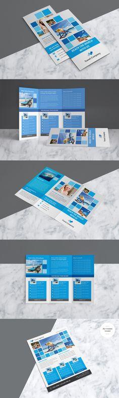 travel brochure design world tri fold best travel brochures