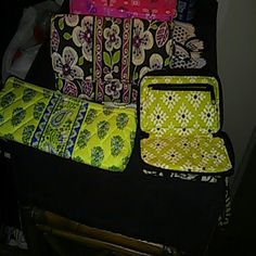 Vera Bradley wallet ,wristlet and pouch All three items Vera Bradley Bags Wallets