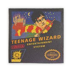 Painel de Cortiça Teenage Wizard