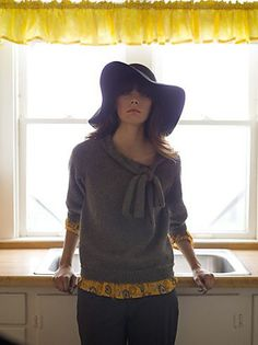 Ravelry: Toulouse Pullover pattern by Leah B. Thibault - I love this jumper