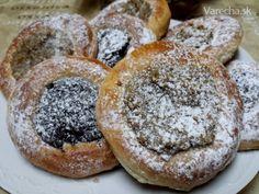 Orechové a makové tanieriky (fotorecept)