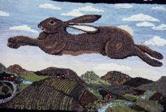 """""""Flying Hare"""" by Teresa Nieberding"""
