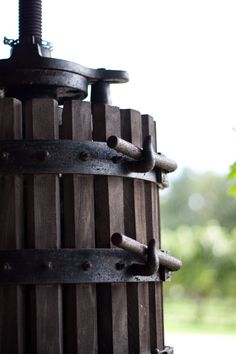 Antique Wine Press (Courtesy of Anthony Gale, 2011 Harvest Photo Contest)