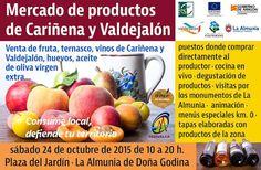 GASTRONOMÍA EN ZARAGOZA: Mercado de productos de Cariñena y Valdejalón