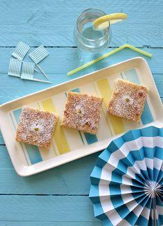 Tinkas Welt: Erfrischender Zitronen-Joghurt-Kuchen